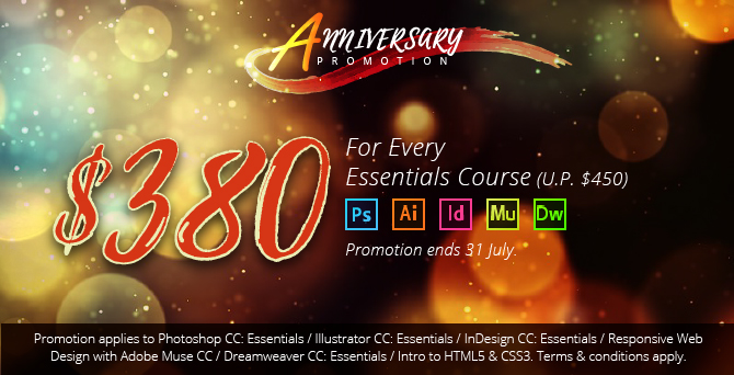 Promotion - $380 For Every Essentials Courses